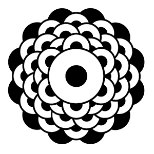 The crop circle with the opening heart chakra