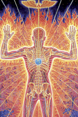 Feuerkraft, Energie, die Kraft des Heiligen Geistes