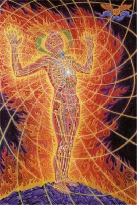 Kundalini-Energie im Menschen