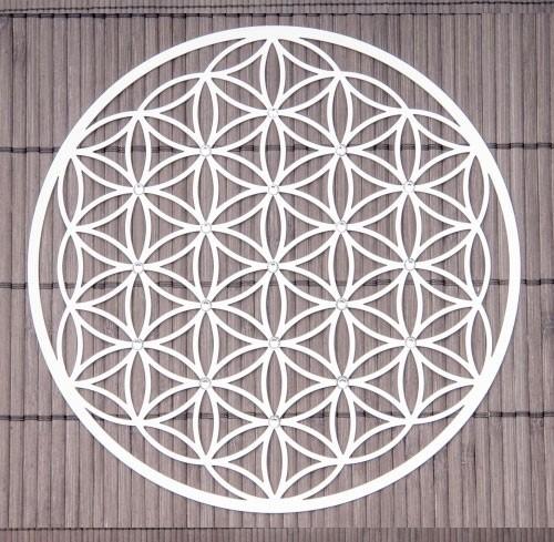 Wandschmuck Blume des Lebens