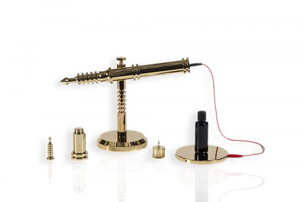 Weber-Isis® orgone emitter 1:1.5 (gold-plated)