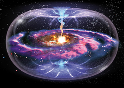 Torus-shaped energy field of the galaxy